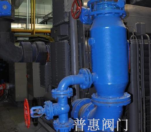 自动排污反冲洗过滤器热网改造工程的